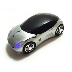 送料無料!ワイヤレス マウス フェラリ車型mouse sliver使い易い!|makitaqueenshopp