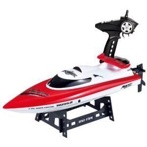 送料税込み 2.4G ラジコン高速船ヨットボート・レース28km/h最新HQ962Red
