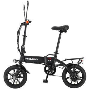 14インチ電動バイク 電動アシスト自転車 折りたたみ式 アシスト3段速度調整 時速25km モータ3...