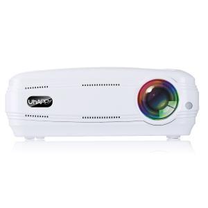 明るさは3200ルーメン、1080P対応の高解像度のミニプロジェクターです。投影機 プロジェクター ...