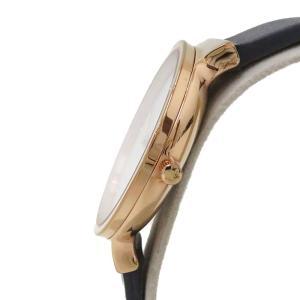 SKAGEN/スカーゲン アンカー SKW2608 腕時計 GP/ステンレススチール/ネイビー革ベルト クオーツ ホワイト文字盤 レディース|mako78|03