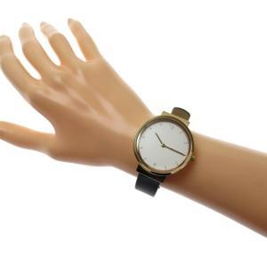 SKAGEN/スカーゲン アンカー SKW2608 腕時計 GP/ステンレススチール/ネイビー革ベルト クオーツ ホワイト文字盤 レディース|mako78|10