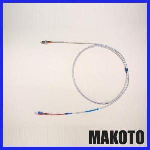 ネジ取付タイプ温度センサー K熱電対センサー リード線2m付|makoto-keiki