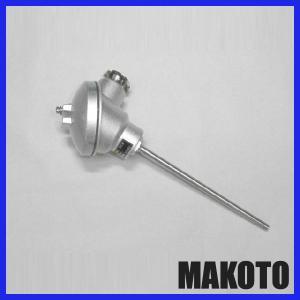 端子箱型温度センサー ストレートタイプ 測温抵抗体 φ6.4 250mm|makoto-keiki
