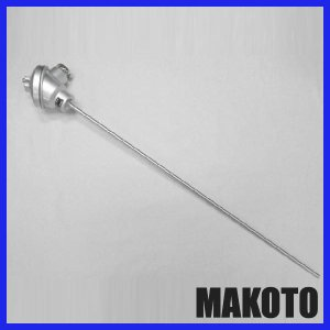 端子箱型温度センサー ストレートタイプ 測温抵抗体 φ6.4 500mm|makoto-keiki