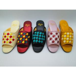 市松模様外履きサンダル|makoto-lucy