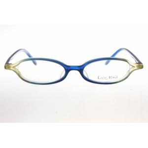 [ レイジーレッド LR-3002 BLYL 未使用品(S) ] 金子眼鏡のLazy Red!すっき...