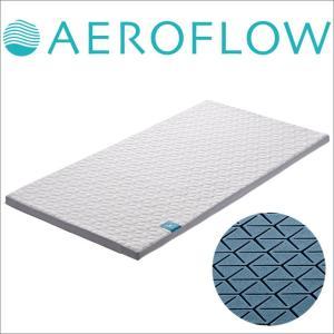 マットレス シングルサイズ エアロフロー ファセット トップマット 人肌のような柔らかな感触です(約97×195×5センチ) makura