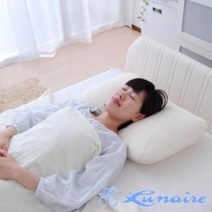 枕 まくら 低反発寝返り快適ピロー 40×60センチ 安眠枕 低反発 洗える|makura