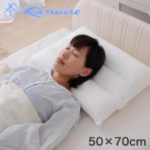 枕 まくら 綿二重ガーゼ使用三分割ネックサポート枕 大 50×70センチ 安眠枕 洗える|makura