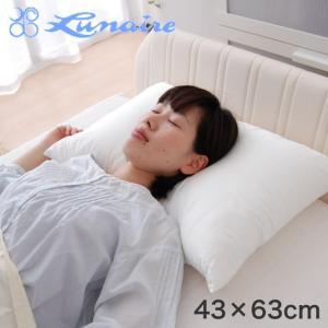 枕 まくら 新触感 エンジェルタッチ枕 43×63センチ 安眠枕 洗える|makura