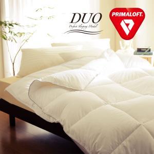 掛け布団 掛布団 プリマロフト デュオ 2枚合わせ ダブルサイズ 約190×210センチ PRIMALOFT DUO|makura