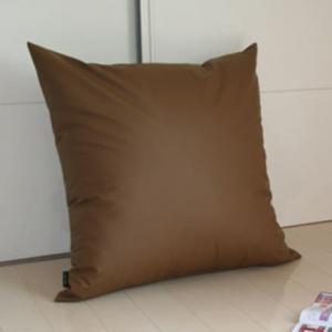 クッション A Simpl Leather(シンプルレザー) カバー式ジャンボクッション 70×70センチ|makura