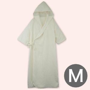 バスローブ フード付きケアバスローブ介護用 Mサイズ 148〜166センチ|makura