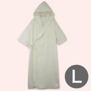 バスローブ フード付きケアバスローブ介護用 Lサイズ 156〜174センチ|makura