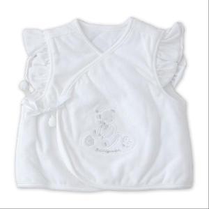 ベスト ベビー ベビー ベロアベスト 新生児用 50〜70センチ|makura