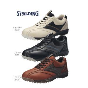 SPALDING 軽量 マレットゴルフシューズ SP-301 男性用 4E 防水|malletpro