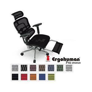 エルゴヒューマン Ergohuman オフィスチェア オットマン内蔵型 EHP-LPL
