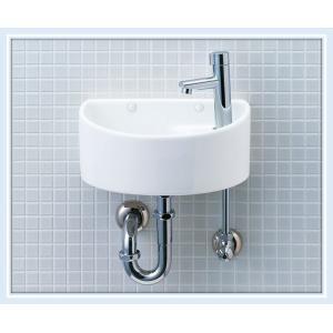 LIXIL(INAX) 狭小トイレ手洗い AWL-33(P)壁排水仕様 送料無料|malukoh
