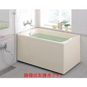 INAX ポリエックFRP浴槽W1100サイズ(PB-1112BL/R) 2方全エプロン 送料無料
