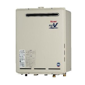 リンナイ 屋外壁掛形20号フルオート追炊機能付+リモコンセット(RUF-A2000AW(A)+MBC-120V)送料無料|malukoh