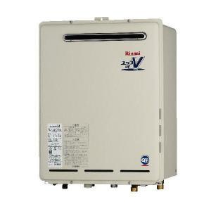 リンナイ 屋外壁掛形24号フルオート追炊機能付+リモコンセット(RUF-A2400AW(A)+MBC-120V)送料無料|malukoh