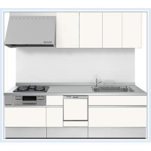 LIXIL システムキッチン シエラ 間口2400mm(食器洗乾燥機付) スライド(スライドストッカープラン) 送料無料 malukoh