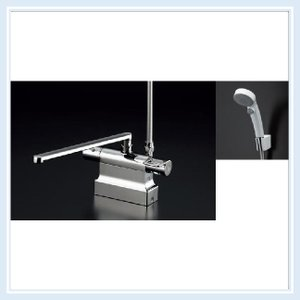 TOTO 浴室水栓 TMGG46EW サーモスタットシャワー金具(台付きタイプ)[ エアインクリックシャワー ]  送料無料|malukoh