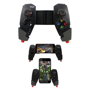 ios android Windows ゲームコントローラー トランスフォーム iOS iPad Apple TV ゲームパッド Bluetooth ワイヤレス ゲームパッド  伸縮自在スタンド 正規品