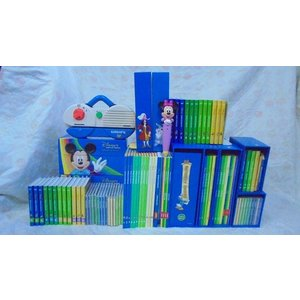dfg4155 DWEディズニー英語システムワールドファミリー 『ママのガレージセール特選パッケージ[1]』 幼児英語教材 mamagare