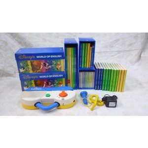 dfg4170  DWEディズニー英語システムワールドファミリー 『ミニーパッケージ 旧タイプ』|mamagare