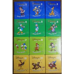 g3494 ニューシングアロング・ディズニー英語システムワールドファミリー【2013年3月1日発売 最新版】NewシングアロングDVDのみ 幼児英語教材|mamagare