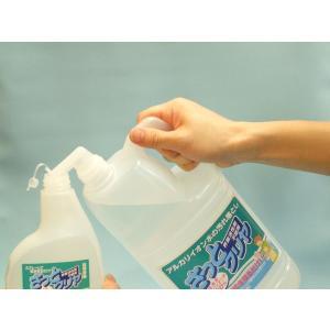 「さっとクリヤ2L+専用スプレーボトル」 洗浄用 アルカリイオン水100% さっと一拭き 簡単 ピカピカ mamano 02