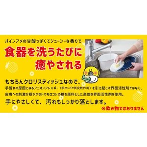 食器用洗剤「クロリスディッシュ パインアメの香り」詰め替え用1000ml|mamano|04