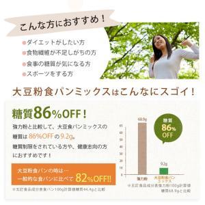 食パンミックス 大豆粉食パンミックス 1斤用 mamapan 200g 糖質制限 mamapan 04