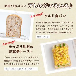 食パンミックスセット 基本の食パンミックス 1斤用 mamapan 270g×10+イースト3g×10 送料無料【沖縄は別途追加送料必要】|mamapan|08