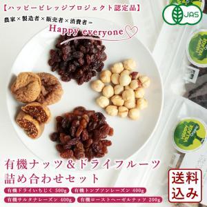 有機ナッツ&ドライフルーツ詰め合わせセット 4種(ドライいちじく/サルタナレーズン/トンプソンレーズン/ヘーゼルナッツ)送料無料 パン作り お菓子作り|mamapan