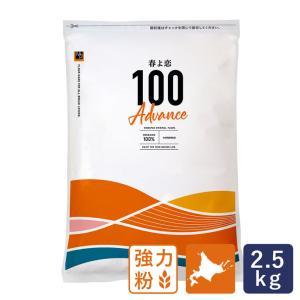 強力粉 春よ恋100 北海道産パン用小麦粉 2.5kg 国産小麦粉