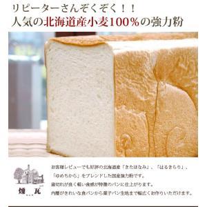 国産 強力粉 北海道産小麦粉 煉瓦 2.5kg パン用小麦粉|mamapan|03
