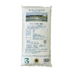 塩 ゲランドの塩(顆粒) 鳥越製粉 1kg フランス産 天然塩