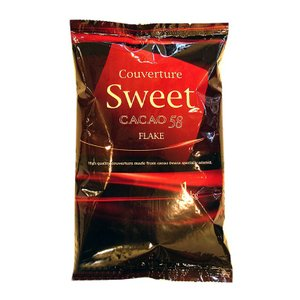 チョコレート クーベルチュール スイートフレーク カカオ58% 不二製油 1kg