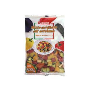 冷凍食品 カゴメ 菜園風グリル野菜のミックス 600g|mamapan