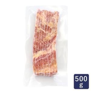 大山ハム 熟成乾塩ベーコン 8mm 500g ベーコン サンドイッチ パスタ|mamapan