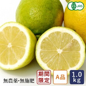 有機JAS 有機レモン(A品) 中原観光農園 1kg 国産 2021年3月12日am7:59受付、3月19日出荷【支払いはクレジットカード・全額ポイントのみ】|mamapan