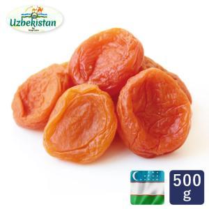 ジャンボアプリコット ウズベキスタン産 500g 大粒 ドライフルーツ 砂糖不使用 あんず 杏|mamapan