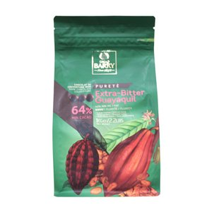 チョコレート ピュルテシリーズ ピストール エキストラビター カカオ64% カカオバリー 1kg クーベルチュール|mamapan