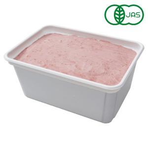 有機JAS SOYジェラート ストロベリー Mine! 1000ml アイスクリーム オーガニック 豆乳アイス