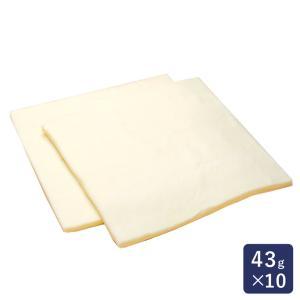 冷凍パン生地 デニッシュ板9.5角 43g×10 ISM(イズム)