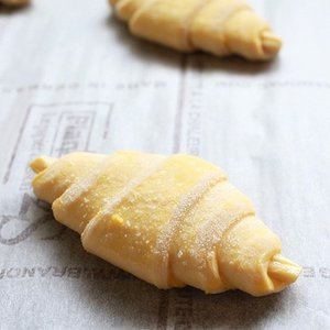 【解凍して焼くだけ♪】冷凍パン生地 BAKE UP ミニクロワッサン 25g×20 発酵不要|mamapan