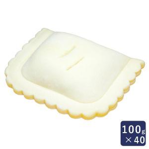 冷凍パイ生地 フレンチアップルパイ 1ケース 100gx40 ISM(イズム) 業務用|mamapan